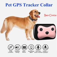 Imperméable IP65 Mini GPS Tracker avec collier Rastreador pour animaux de compagnie chiens Tracking Localizador Chip Geofence G113, CAR