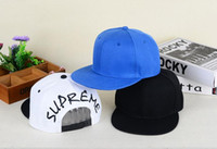 Wholesale English Caps - Star with the same SUP reme English embroidery hat spring and summer hip hop hat men and women along the baseball cap tide