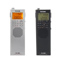 Wholesale mini external speaker - Wholesale-TECSUN PL-360 DSP Radio FM MW SW LW Multiband Radio Receiver Portable Mini Radio With External AM Antenna & Outdoor Antenna