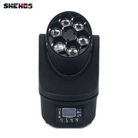 mover mini cabeça móvel venda por atacado-Led Mini Abelhas Olhos Led Moving Head Feixe de Luz Efeito 6x15 W RGBW 4IN1 Lâmpada LED 11/14 ChannelsStage Iluminação
