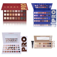 Wholesale Eye Primers - Makeup Lorac PRO Palette Lorac Pro 2,Pro Palette 3 Lorac Unzipped Eyeshadow Makeup Palette Set with Eye primer Cosmetic in stock