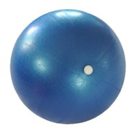 ingrosso pilates palla di yoga-All'ingrosso-Salute Fitness Yoga Ball 3 colori Utility antiscivolo Pilates Yoga Balls Sport Per Fitness Training # W21