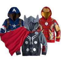 Wholesale Horse Hooded Sweatshirts - Boys Hoodies Spring Autumn Sweatshirts for 2-6T kids Clothing Cute little horse Fall coat for little kids