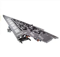 Wholesale Star Wars Aircraft - 3208PCS LEPIN 05028 Star Wars Building Blocks Imperial Star Destroyer Model action Bricks Toys Compatible 75055