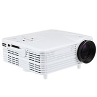 mini proyector usb accionado al por mayor-Al por mayor-H80 640x480 píxeles Full HD 1080P Mini LED solo TFT-LCD multimedia proyector Home Theater 30 W Ultra-baja potencia de la ayuda USB HDMI