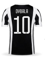 Wholesale Cheap Blue Tops - 17-18 Home 9 HUGUAIN,10 DYBALA,3 CHIELLINI ,17 Mandzukic,5 PJANIC,Customized Thai Quality Cheap Discount Soccer Jerseys,Soccer Jersey Tops