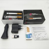 Wholesale Electronic Cigarette Refill Usb Rechargeable - New Arrive V9 e Electric Cigarette with double gift kit Quit Smoking USB Rechargeable 150mAh Electronic Cigarette with 10-Refills