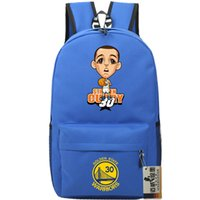 Nice lecteur sac à dos Stephen Curry sac à dos Basketball star cartable Cartoon sac à dos Sport cartable Outdoor pack de jour