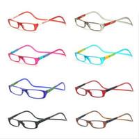 Wholesale Great Value - HOT SALE-2016 NEW 10PCS Value Pack Bi-color Folding Magnetic Reading Glasses Women Men Plastic Readers Eyeglasses+1.0+1.5+2.0+2.5+3.0+3.5