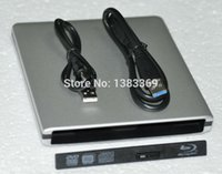Wholesale Dvd Rw Hdd - Wholesale- Brand NEW External 12.7mm USB 3.0   2.0 SATA superslim Drive Case Caddy Enclosure for CD DVD-Rom DVD-RW Blu-ray HDD DVD ODD