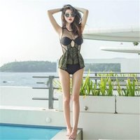 One Piece original bathing suits - 2017 Newest Original Black One Piece Swimwear Women Embroidery Mesh Backless Swimsuit Transparent Lady Sexy Push Up Bathing Suit