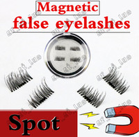 Wholesale Hot Glue Strips - 35PCS HOT magnet false eyelash suction stone mascara magnetic magnetic buckle without glue three-dimensional multi-layer natural thick