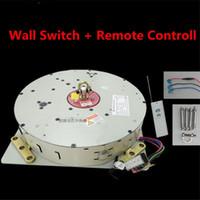 control remoto de elevación al por mayor-50KG 100KG 150KG Interruptor de pared + Control remoto de iluminación Levantador Araña Lámpara de elevación Cabrestante Sistema de elevación de luz Motor de la lámpara 4-10M Cable