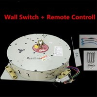 Wholesale remote control chain - 50KG 100KG 150KG Wall Switch+Remote Controlled Lighting Lifter Chandelier Hoist Lamp Winch Light Lifting System Lamp Motor 4-10M Cable