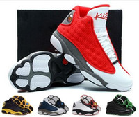 Wholesale men leather shoes new models resale online - With Box High Quality XIII New Model M Rocket Men s Basketball Sneakers Trainers Shoes