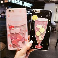 Wholesale Nice Phone Cases - For iphone7 plus Cell Phone Relief Cases and iphone6s 6plus flash 2017 best new Creative Flamingo for lady girl boy nice free shipping