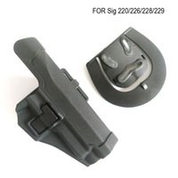 ingrosso fodera tattica a pale-Extended Tactical CQC fondina pistola mano destra cintura Paddle Holster per pistola sig 220/228/229 P226