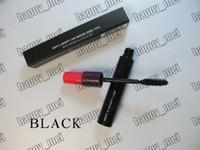 doble pestañas al por mayor-Envío gratis ePacket Nuevo maquillaje de ojos M7748 Hautte Nauughty Lash Mascara Doble Effet! 9g
