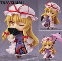 Wholesale Touhou Project Anime Figure - TraVelMall New Anime Q version Yakumo Yukari 442 10cm PVC Action Figure Toy Doll for Touhou Project kids gift