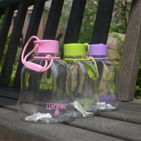 Wholesale Kid Plastic Cups - Wholesale- NEW My Favorite Water Bottle Leak-Proof Seal (400ml) BPA FREE Plastic Water Cup Portable School Mothers Choice For Kids