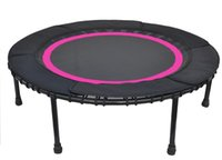 Wholesale Gym use fitness bungee rope trampoline rebounder with protecting pad skirt fast shipping wholeslale price