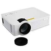 micro projecteurs usb achat en gros de-Vente en gros- GP-9 Mini Cinéma Maison HD LCD Projecteur 2 USB 2000 Lumens 1920 x 1080 Pixels Vidéo Micro PiCo Enseignement Projecteur