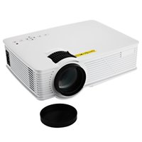 Wholesale Dlp Pico - Wholesale- GP-9 Mini Home Cinema Theater HD LCD Projector 2 USB 2000 Lumens 1920 x 1080 Pixels Video Micro piCo Teaching Projector
