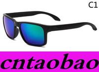 Wholesale Round Frame Wholesale Glasses - Promotion HOT SALE Brand Polarized Sunglasses Men Women's Sport Cycling Glasses Eyewear Goggles Eyewear 10 color options MOQ=10pcs