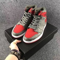 Wholesale I Clear - wholesale retro 1 high shoes camo grey red online I 1s boy sneakers trainers online wholesale free shipping sale