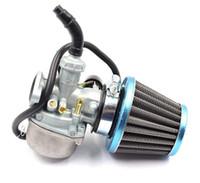 filtros de ar para bicicleta venda por atacado-Carburador 50cc de Kart da bicicleta da sujeira de 19mm ATV, 70cc, 90cc, 110cc, 125cc, filtro de ar do carburador