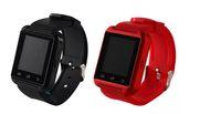 сенсорный экран для sony оптовых-Горячие U8 SmartWatch сенсорный экран DZ09 A1 наручные часы для iOS iPhone Samsung Sony Huawei Android телефонов в подарочной коробке