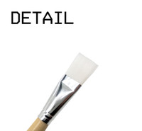 Wholesale wooden handle hair brush sets for sale - Group buy Wooden handle bar mask brush soft small beauty mask DIY beauty tools