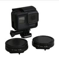 Wholesale Gopro Filter Adapter - 52MM Filter CPL Filter Lens Cap UV Filter+adapter ring for Go ProHero 5 Camera