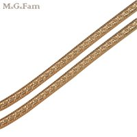 Wholesale Miao Embroidery - (175N) (60cm*3mm) Small Snake Chain Necklaces 18k Gold Plated Men 's Fashion Jewelry Embroidery Nickel free Copper