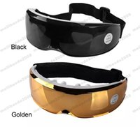Wholesale Eye Mask Massager - NEW Electric Eye Care Massager USB Glasses Mask Migraine Electric Vibration Release Alleviate Fatigue Eye Massager Sleep Masks MYY
