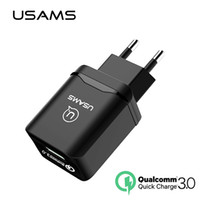 dhgate Fast USB Cargador de teléfono 18W EU Quick Travel Charge Qualcomm 3.0 para i / phone Compatible con Samsung 2.0 Quick Normal Wall Charger