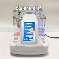 Wholesale Oxygen Jet Machine - Salon Spa Microdermabrasion Hydrafacial RF Machine For Skin Rejuvenation Water Oxygen Jet Peeling Face Care Ultrasonic Beauty Instrument