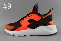 Wholesale Ii Online - Cheap Air Huarache 2 II Ultra Classical all White And Black Huarache Shoes Men Women Sneakers Running Shoes Size 36-45 online for sale