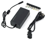 lenovo 12 al por mayor-Cargador universal de la energía del cuaderno del ordenador portátil adaptador externo cargadores 96W 12-24V de tensión ajustable para HP Dell IBM Lenovo ThinkPad EU / US / UK / AU