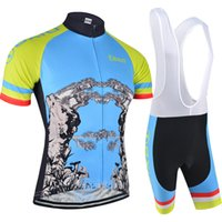 BXIO Brand Summer Type New Cycling Set Bike Outdoor Sport Wear Vêtements Short Sleeve Cycle Jerseys Respirant Ropa Ciclismo Hombres BX-115