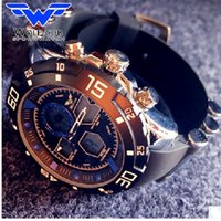 Wholesale Men S Silicone Watch - Wolf-Cub Military Men 's Luxury Brand Silicone Belt Sports Men' s Analog LED Digital watch