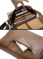 Wholesale Shoulder Bag Briefcase Men - Casual Men Bag Genuine Leather Handbags Men's Briefcase Handbag Crossbody Bags Men Messenger Bags Men's Leather Shoulder Bag