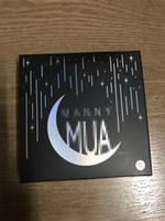 Wholesale Powder X - 2017 Makeup Geek X Manny Mua Eyeshadow Eye Shadow Cosmetics Eyeshadow Pressed Powder Kit Palette Long-lasting Matte 9 Colors