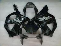 Wholesale Honda Cbr 954 Plastics - Bodywork for Honda Cbr954RR 2003 Plastic Fairings CBR900 954 03 Black Body Kits CBR 954 RR 2002 2002 - 2003