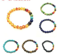 Wholesale Craft Charms Religious - New Arrival Beads Charms Bracelets colorized Beads Men's Women's Natural stone Strands Bracelet For Fashion Jewelry Crafts
