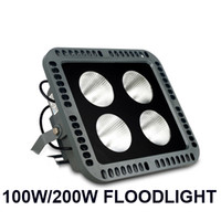 Wholesale project green light for sale - 100W W Led floodlights outdoor high bright red green blue yellow color LED flood lighting Landscape project lights waterproof AC V