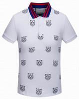 Wholesale Vintage Polo Sport Shirt - Short Sleeve Fashion Mens Casual Shirt Italy Designer Summer Classic Cotton Shirts Vintage Sports Shirt Tops Tees Leisure Polo T-Shirt
