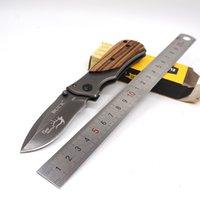 Wholesale Mini Folding Blade - MINI Buck Knife X35 Tactical Knife Survival Folding Blade Knife Hardened 3CR13 57HRC Pocket Hunting Knives Outdoor Camping EDC Tools