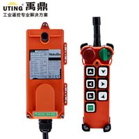 -40℃~+85℃ industrial cranes - Telecontrol F21 E2 Industrial Radio Crane Remote Control AC DC Universal Wireless Control for Crane Rransmitter and Receiver