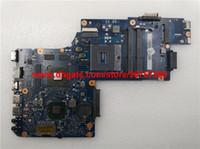 dizüstü bilgisayar test edildi toptan satış-Toshiba Satellite C850 L850 için orijinal Yüksek Kalite H000050770 HM65 w Video Kartı Laptop Anakart Anakart Test
